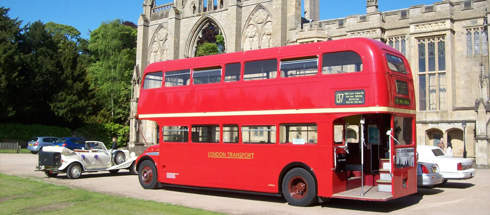 Vintage Vehicle London Bus Hire
