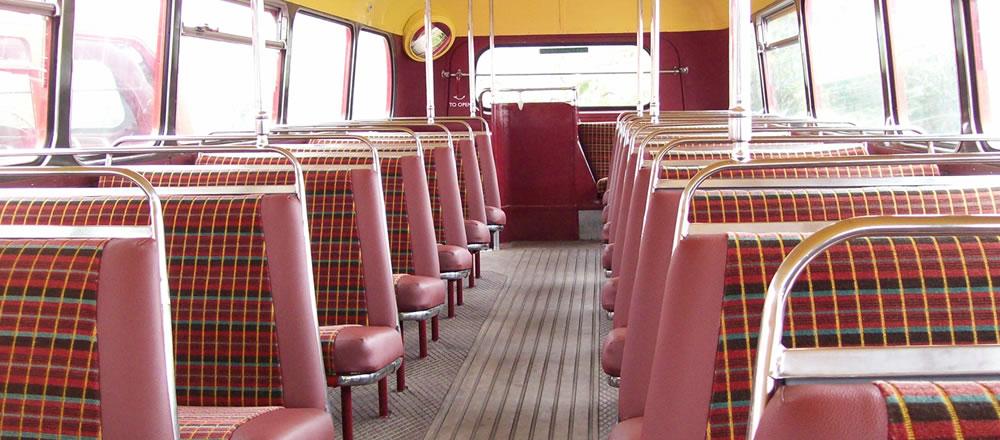 Vintage vehicle london bus hire nottingham red bus hire nottingham for Companies that hire interior designers